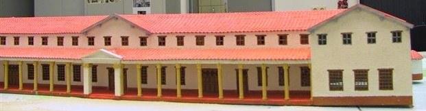 Maquette Romeinse villa